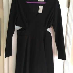 Halston Heritage cutout Dress. New with tags